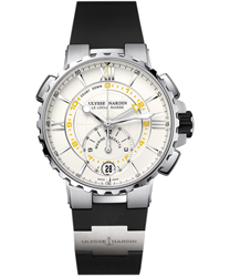 Ulysse Nardin Marine Regatta Chronograph Men's Watch Model: 1553-155-3/40