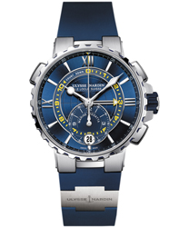 Ulysse Nardin Marine Regatta Chronograph Men's Watch Model: 1553-155-3/43