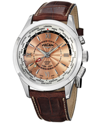 Vulcain Aviator Men's Watch Model 100108.143LFBK