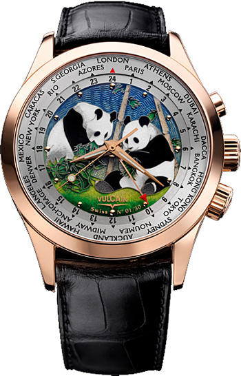 Vulcain Cloisonne Men's Watch Model 100508.189L