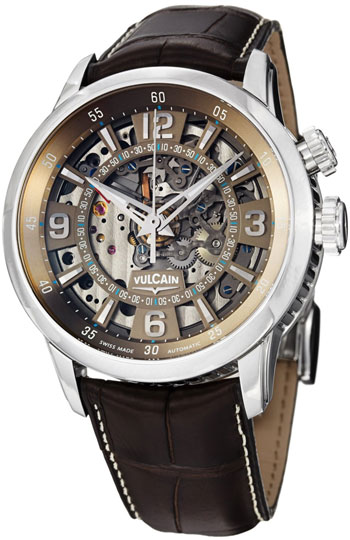 Vulcain Anniversary Heart Automatic Mens Wristwatch Model: 280138.239LF