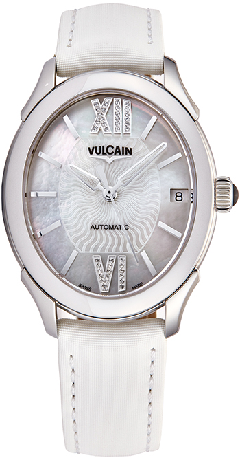 Vulcain First Lady Ladies Watch Model 610164N2SBAS412