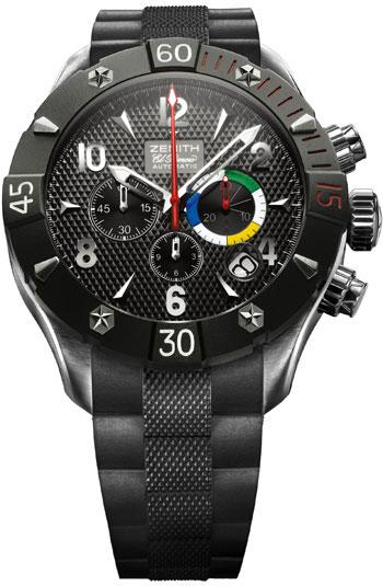 8e61e278b92 Zenith Defy Classic Chrono Aero Men s Watch Model  03.0526.4000.21.R642