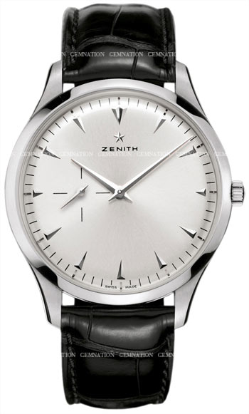 Zenith Heritage Ultra Thin Small Seconds Mens Wristwatch Model: 03.2010.681-01.C493