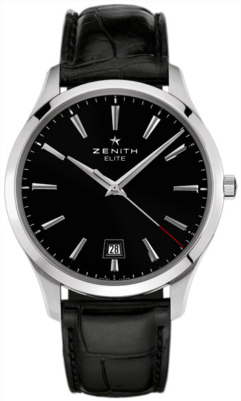 Zenith Captain Central Second Mens Wristwatch Model: 03.2020.670-21.C493