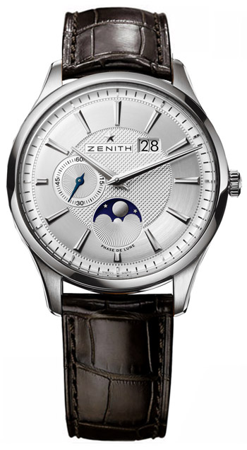 Zenith Captain Moonphase Mens Wristwatch Model: 03.2140.691-02.C498