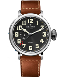 Zenith Pilot Montre d Aeronef Zenith Type 20 GMT   Model: 03.2430.693-21.C723