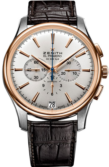 Zenith Captain Chronograph Mens Wristwatch Model: 51.2112.400-01.C498