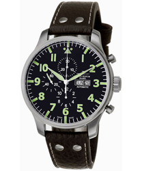 Zeno Oversized Pilot Men's Watch Model 10557-A1-DECK