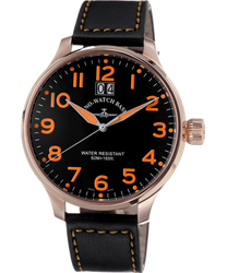 Zeno Super Oversized Men's Watch Model 6221Q-PGR-A15