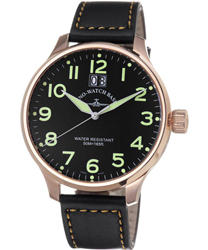 Zeno Super Oversized Mens Wristwatch Model: 6221Q-PGR-A1