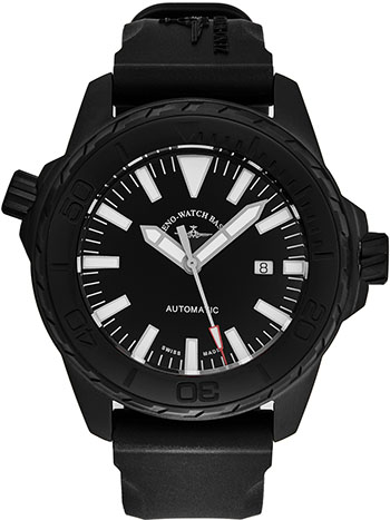 Zeno Divers Men's Watch Model 6603-BK-A1
