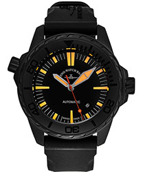Zeno Divers Men's Watch Model 6603-BK-A15