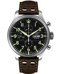 Zeno Oversized Pilot Mens Wristwatch