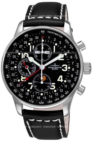 Zeno X-Large Pilot P551-A1 Mens wristwatch