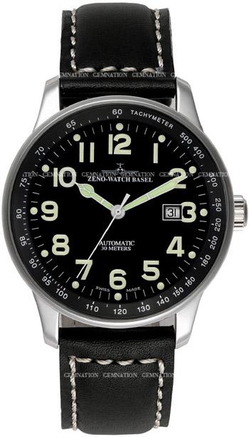 Zeno X-Large Pilot P554-a1 Mens wristwatch